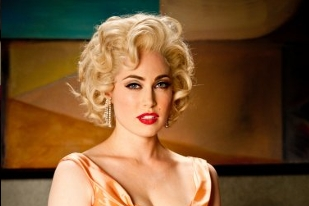A sultry Charlotte Sullivan as Marilyn Monroe - The Kennedys