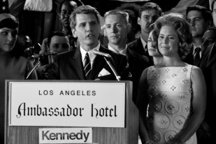 Barry Pepper and Kristin Booth at the Ambassador Hotel - The Kennedys