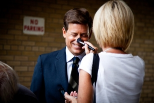 Greg Kinnear in Makeup - The Kennedys