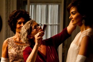 Katie Holmes in Makeup - The Kennedys
