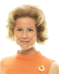 Kristin Booth as Ethel Kennedy - The Kennedys